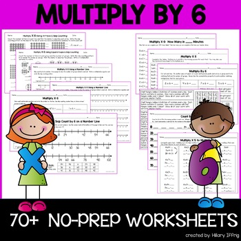 Multiply & Skip Count By 6