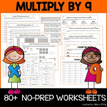 Multiply & Skip Count By 9