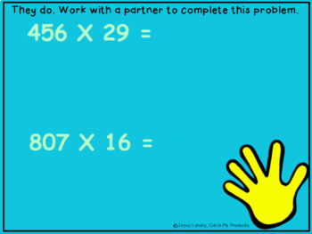 Multiplication Lesson Plans for PROMETHEAN Board