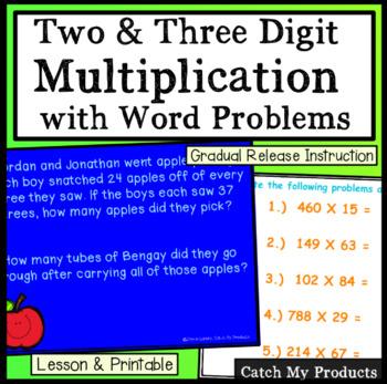 Multiplication Worksheet and Lesson Plan