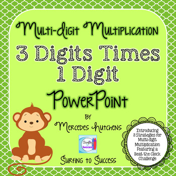 Multiply Three Digits by One Digit PowerPoint