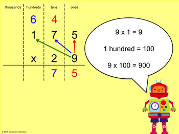 Multiply Three Digits by Two Digits PowerPoint