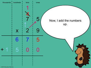 Multiply Two Digits by Two Digits PowerPoint