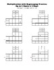Multiply Up to 3 Digits x 2 Digits Blank Worksheets Multiplication