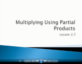 Multiply Using Partial Products - Grade 4 Go Math Lesson 2