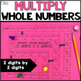 Multiply Whole Numbers (2 digit by 2 digit) Board Game