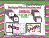 Multiply Whole Numbers and Decimals Task Cards