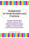 Multiply Whole Numbers and Fractions