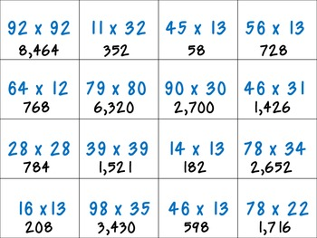 Multiply, Word Problems, and Mixed Operations Math Board Game