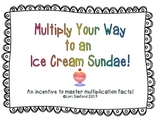 Multiply Your Way to an Ice Cream Sundae