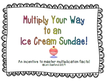 Multiply Your Way to an Ice Cream Sundae