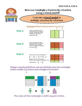 Multiply a Fraction by a Fraction Using a Visual InstaChart