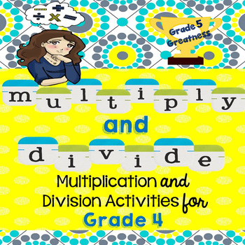 Multiply and Divide Activities Fourth Grade