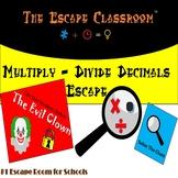 Multiply and Divide Decimals Escape Room | The Escape Classroom