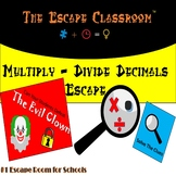 Multiply and Divide Decimals Escape Room | The Escape Classroom