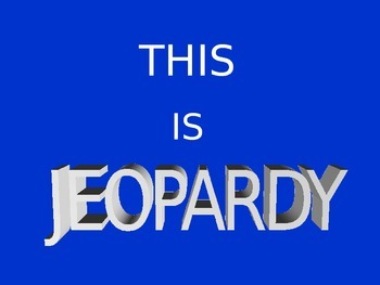 Multiply and Divide Decimals Jeopardy Review