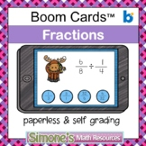 Multiply and Divide Fractions Digital Interactive Boom Car