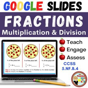 Multiply and Divide Fractions - GOOGLE INTERACTIVE CLASSROOM!