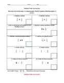 Multiply and Divide Fractions Quiz