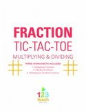 Multiply and Divide Fractions Review Game - Partner Activi