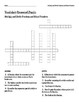 Multiply and Divide Fractions Vocabulary Review Crossword Puzzle