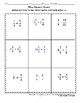 FREE Multiply and Divide Fractions, Whole and Mixed Numbers Nine Square Craze