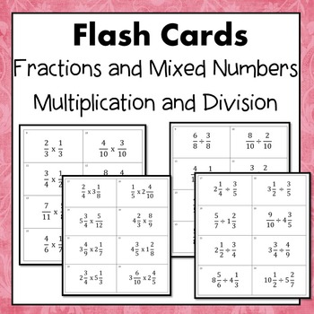 how to add subtract multiply and divide mixed fractions