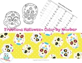 Multiply and Divide Fractions and Mixed Numbers Halloween Color by Number