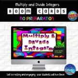 Multiply and Divide Integers - 25 Boom Cards
