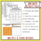 Multiply and Divide Integers Math Activities Google Slides and Printable