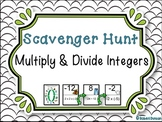 Multiply and Divide Integers - Scavenger Hunt