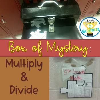 Multiply and Divide Math Mystery Activity