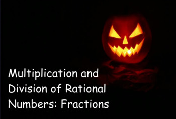 Multiply and Divide Rational Numbers