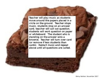Multiply and Divide Rational Numbers Brownie Walk
