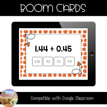 Multiply and Divide with Decimals - Boom Cards Bundle
