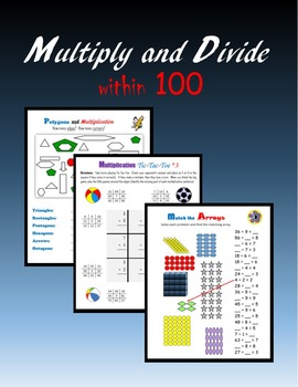 Multiply and Divide within 100