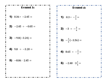 Multiply and divide rational numbers trashket ball