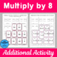 Multiply by 8 Scavenger Hunts