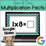 Multiply by 0 & 1 w/JOKES: Multiplication: GOOGLE SLIDES - Distance