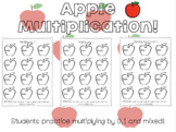 Multiply by 0 and 1 Worksheets