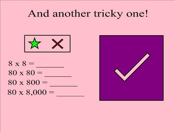 Multiply by 10, 100, 1,000 Center for Your SMARTBoard FREEBIE!