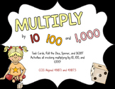 Multiply by 10, 100, and 1000 Activity Pack