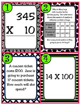 Multiply by 10 or 100 (TEKS 4.4B)