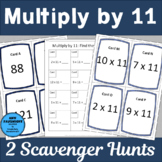 Multiply by 11 Scavenger Hunts