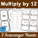 Multiply by 12 Scavenger Hunts