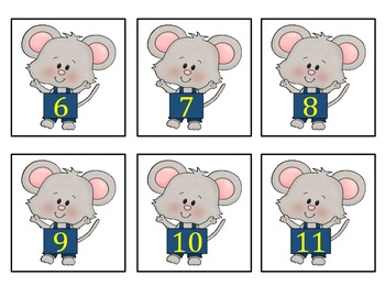 Multiply by 1's - Mouse Learns to multiply by 1's!