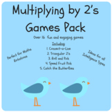 Multiply x2 Game Pack - Times Tables, Multiplication 2's