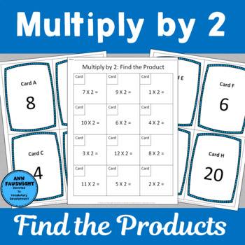 Multiply by 2 Scavenger Hunts