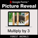 Multiply by 3 - Google Forms Math Game | Distance Learning