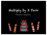 Multiply by 3 Pack